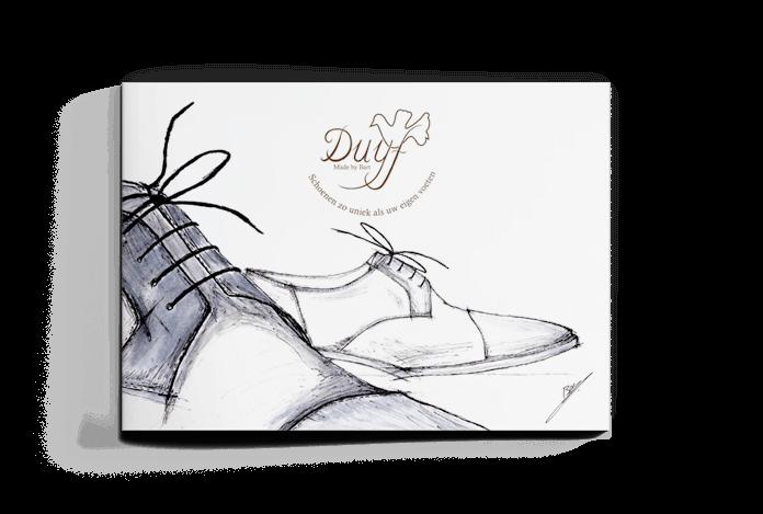 Grafisch ontwerp brochure Duyfshoes