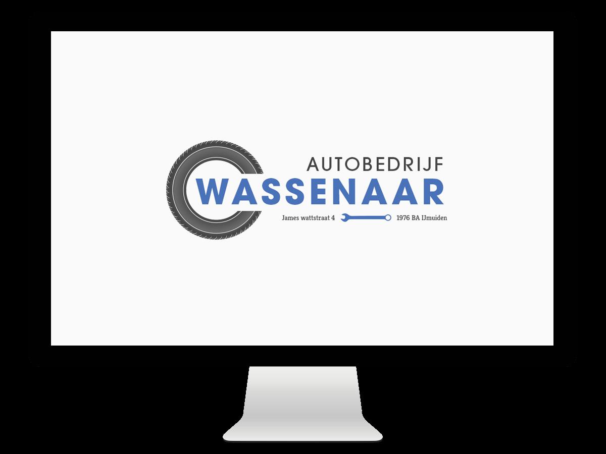 Grafisch ontwerp logo ontwerp Auto Wassenaar