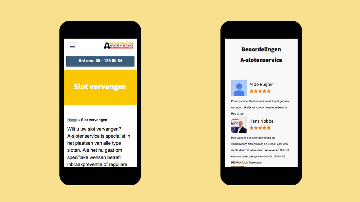 Responsive Wordpres website